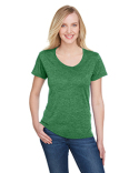 NW3010 A4 Ladies' Tonal Space-Dye T-Shirt