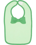 R1002 Rabbit Skins Infant Baby Rib Bow Tie Bib