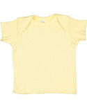 R3400 Rabbit Skins Infant Baby Rib T-Shirt