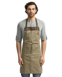 RP123 Artisan Collection by Reprime Espresso Bib Apron