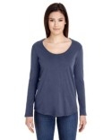 RSA6304 American Apparel Ladies' Long-Sleeve Ultra Wash T-Shirt