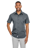 S17019 Spyder Men's Stryke Woven Short-Sleeve Shirt