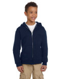 S890 Champion Youth 9 oz. Double Dry Eco® Full-Zip Hood