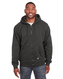 SZ101 Berne Men's Heritage Thermal-Lined Full-Zip Hooded Sweatshirt