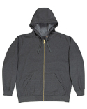 SZ513 Berne Unisex Iceberg Hooded Full-Zip Sweatshirt