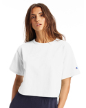 T453W Champion Ladies' Cropped Reverse Weave T-Shirt