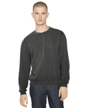 TF478W American Apparel Unisex French Terry Garment-Dyed Crewneck Sweatshirt