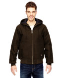 TJ718 Dickies Men's Hooded Duck Jacket