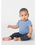 TR005W American Apparel Infant Tri-Blend Infant Short-Sleeve T-Shirt