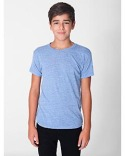 TR201W American Apparel Youth Tri-Blend Youth Short-Sleeve T-Shirt