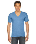 TR461 American Apparel Unisex Triblend Short-Sleeve V-Neck T-Shirt