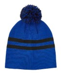 TT122 Team 365 Striped Pom Beanie