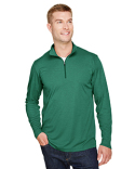 TT31H Team 365 Men's Zone Sonic Heather Performance Quarter-Zip