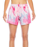 TT42W Team 365 Ladies' Tournament Sublimated Pink Swirl Short