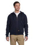 TW382 Dickies Men's 470 Gram Thermal-Lined Fleece Jacket Hooded Sweatshirt