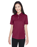 U8315L UltraClub Ladies' Platinum Performance Piqué Polo with TempControl Technology