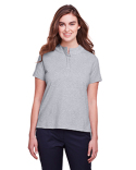 UC105W UltraClub Ladies' Lakeshore Stretch Cotton Performance Polo