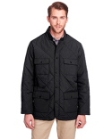 UC708 UltraClub Men's Dawson Quilted Hacking Jacket