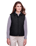 UC709W UltraClub Ladies' Dawson Quilted Hacking Vest