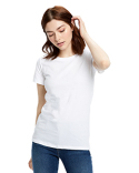 US100 US Blanks Ladies' Made in USA Short Sleeve Crew T-Shirt