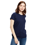 US100R US Blanks Ladies' 5.8 oz. Short-Sleeve Recover Yarn Crewneck