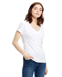 US120 US Blanks Ladies' Made in USA Short-Sleeve V-Neck T-Shirt