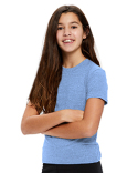 US2500K US Blanks Toddler Tri-Blend Crewneck T-Shirt