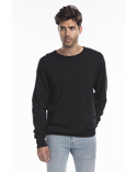 US8000G US Blanks Men's Garment-Dyed Heavy French Terry Crewneck Sweatshirt