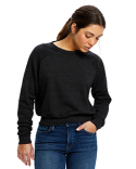 US838 US Blanks Ladies' Sponge Fleece Crop Top