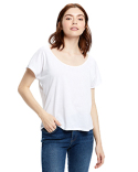 US880 US Blanks Ladies' Recycled Scoop Blouse