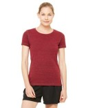 W1101 All Sport Ladies' Performance Triblend Short-Sleeve T-Shirt