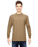WL450T Dickies Men's Tall 6.75 oz. Heavyweight Work Long-Sleeve T-Shirt