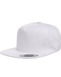 Y6502 Yupoong Adult Unstructured 5-Panel Snapback Cap