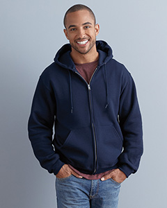 4999 Jerzees Adult Super Sweats® NuBlend® Fleece Full-Zip Hooded Sweatshirt