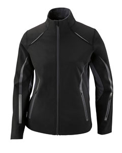 78678 Ash City - North End Ladies' Pursuit Three-Layer Light Bonded Hybrid Soft Shell Jacket with Laser Perforation