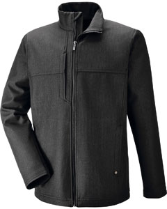 88171 Ash City - North End Men's City Textured Three-Layer Fleece Bonded Soft Shell Jacket