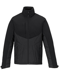 88679 Ash City - North End Men's Innovate Insulated Hybrid Soft Shell Jacket