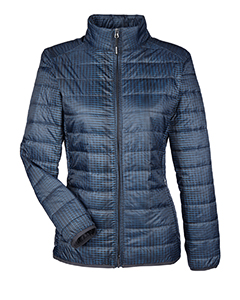 NE701W North End Ladies' Portal Interactive Printed Packable Puffer Jacket